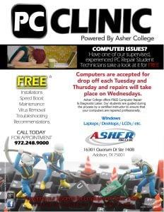 PC Clinic Repair Flyer