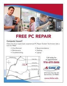 Free PC Repair Clinic