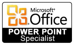 Microsoft Office Power Point Specialist Logo