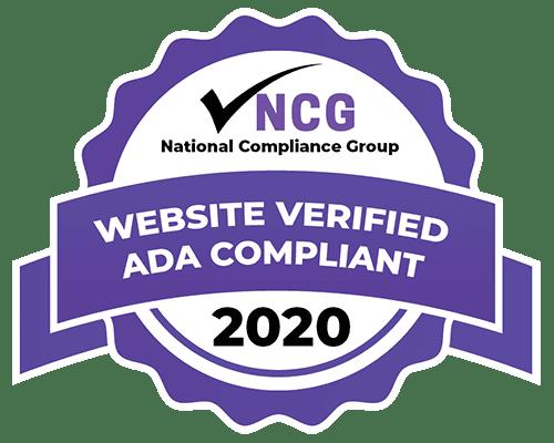 Website Verified ADA Compliant Badge